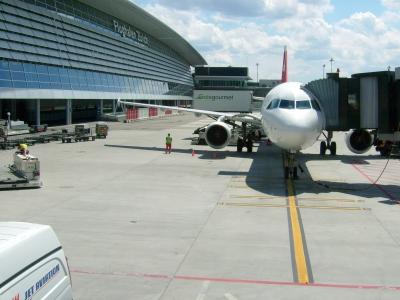 Flugzeug_Airport Zürich