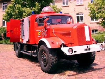 Einsatzfahrzeug der FFW Hüffenhardt