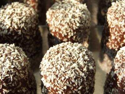 Cocos-Schokoküsse
