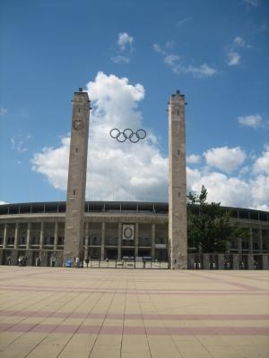 Olympische Tor des Olympiastadions Berlin
