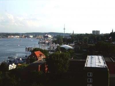 Blick auf die Kieler Innenförde