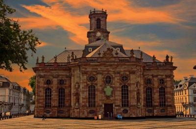 Abendliche Ludwigskirche