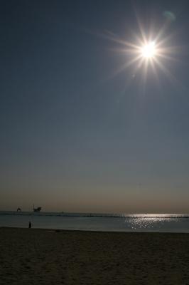 EIn Morgen am Strand