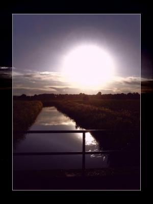 Abend am Fluss