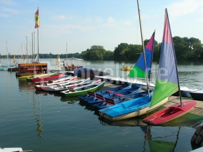 Boote am Maschsee - Hannover