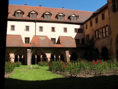 Kreuzgang Kloster Bronnbach