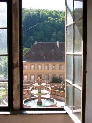 """""""Durchblick 2"""" im Kloster Bronnbach"""