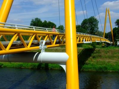 Hängebrücke in Gera