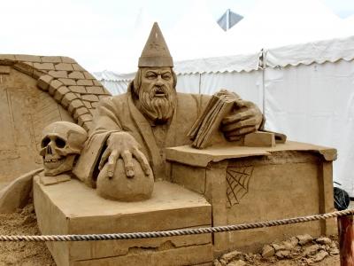 Travemünde Sandworld Merlin
