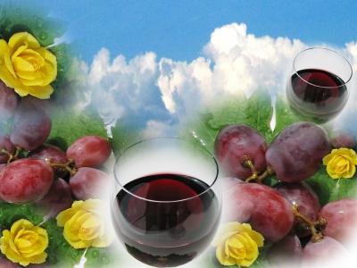 Bald ist der Weinmonat da