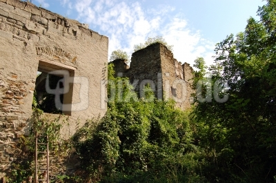 Burgruinenzugang