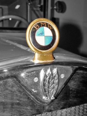 BMW Zeichen nostalgisch