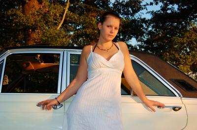 Vanessa und ihr Ford 26M #9