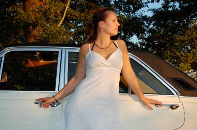 Vanessa und ihr Ford 26M #10