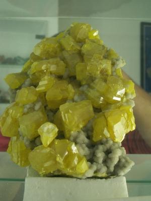 Schwefelkristalle