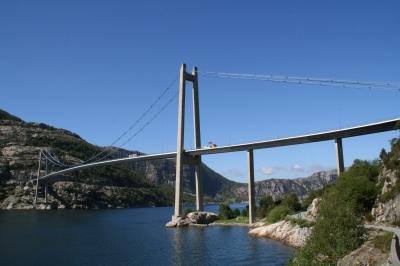 ... und noch mal die Lysefjordbrücke