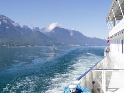 Dampferfahrt auf dem Genfer See