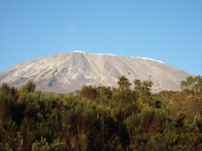 Kilimanjaro von Norden