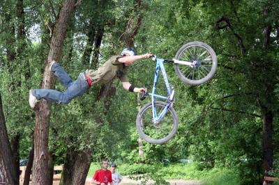fliegender Radler