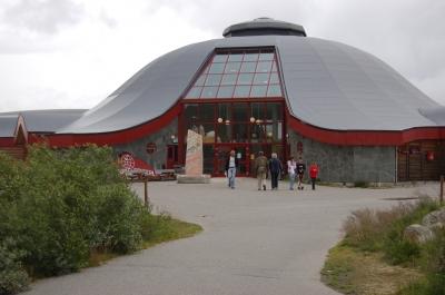 Polarkreis-Touriezentrum