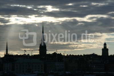 Stockholm-Silhouette