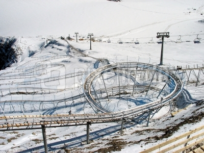 Joujou auf Ab-Wegen: Coaster-Kreisel