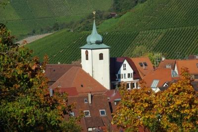 Weinbaugemeinde bei Stuttgart