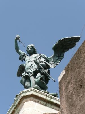 Engel auf Engelsburg