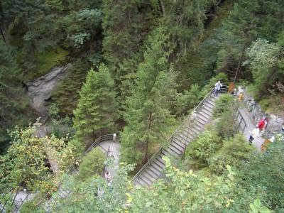 Via Mala Schlucht-Treppen