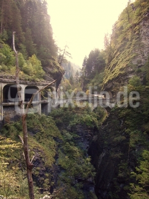 Viamala-Schlucht in der Schweiz