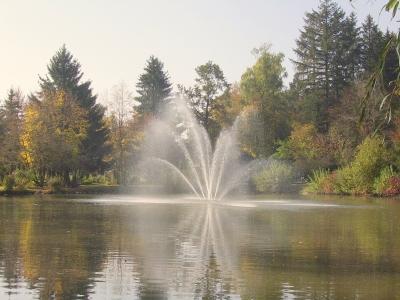 Im Kurpark von Bad Wörishofen