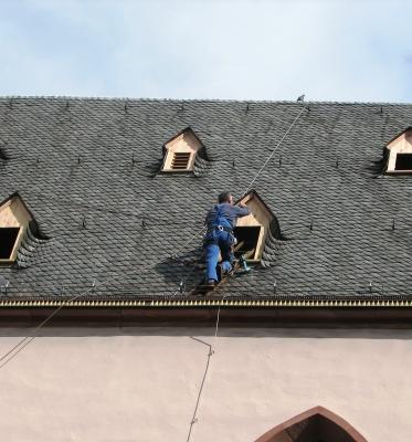 Steig mir aufs Dach! (Dachdecker in Frankfurt/Main)