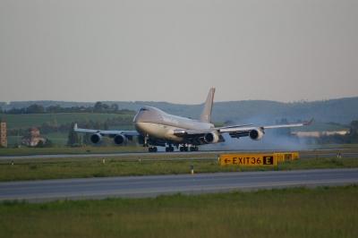 Landung einer Boeing 747-400C