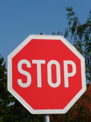 Stop Schild