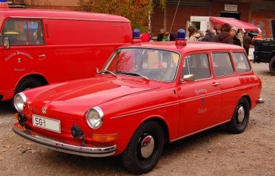 alter VW Feuerwehr-Kombi
