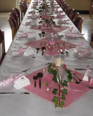 Kostenloses Foto: Ein schön gedeckter Tisch - pixelio.de