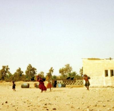 In einem Dorf in Tunesien