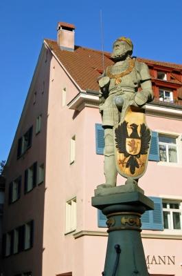 Kaiserbrunnen(-figur) in Überlingen