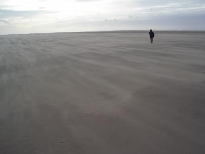 Römö`s Sönderstrand mit Sandtreiben