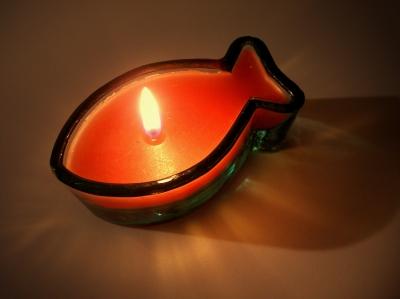 Ichthys - Kerze