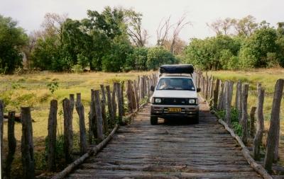 Holzbrücke, Marke Eigenbau