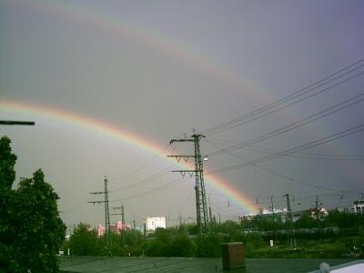 2 Regenbogen