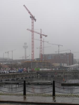 Baustelle Liverpool