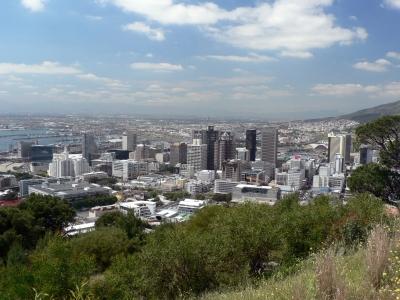 Blick auf Kapstadt