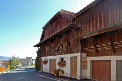 Bäuerliches Gebäude in Bodman am Bodensee