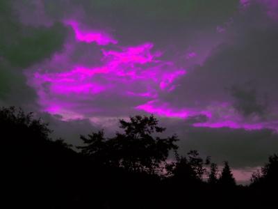 Himmelsfärbung