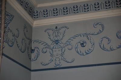 Deckenfries im Gutshaus Palmse