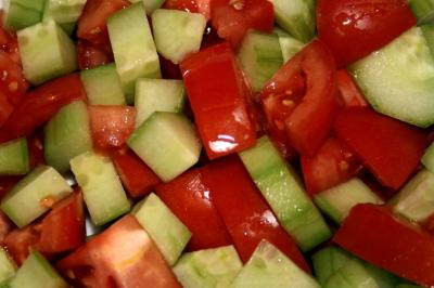 Gurken Tomaten