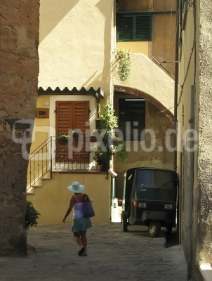 Gasse in Giglio