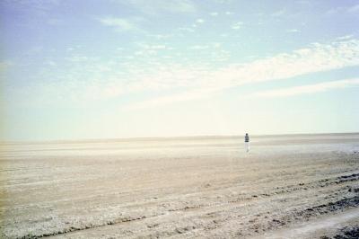 Salzwüste in Tunesien